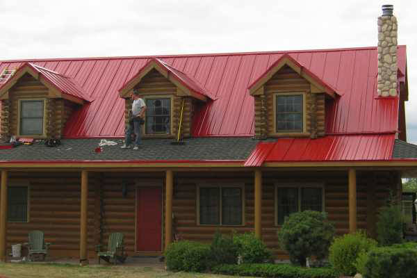 Snaplok Standing Seam - Red