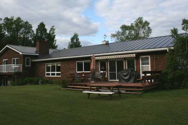 Snaplok Standing Seam - Brown
