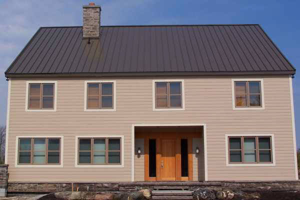 Standing Seam - Medium Bronze